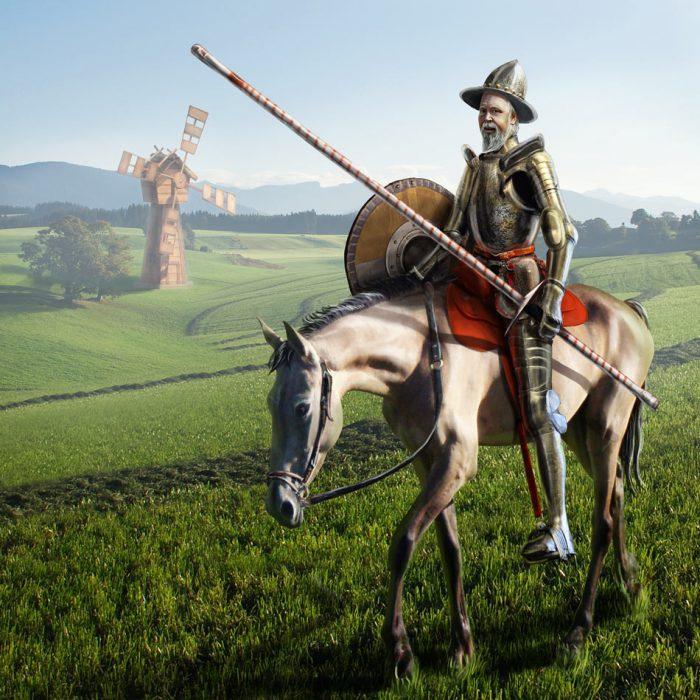 Как звали коня Дон Кихота?